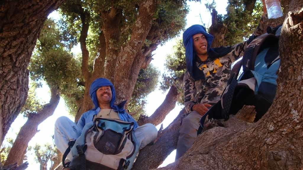 M'Goun, Vacances au Maroc