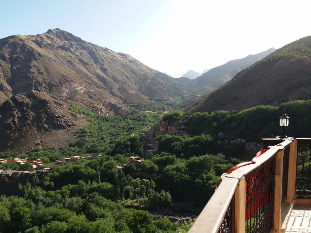 Toubkal, Voyage au Maroc