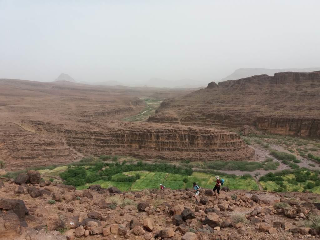Randonnée dans les desert du saghro