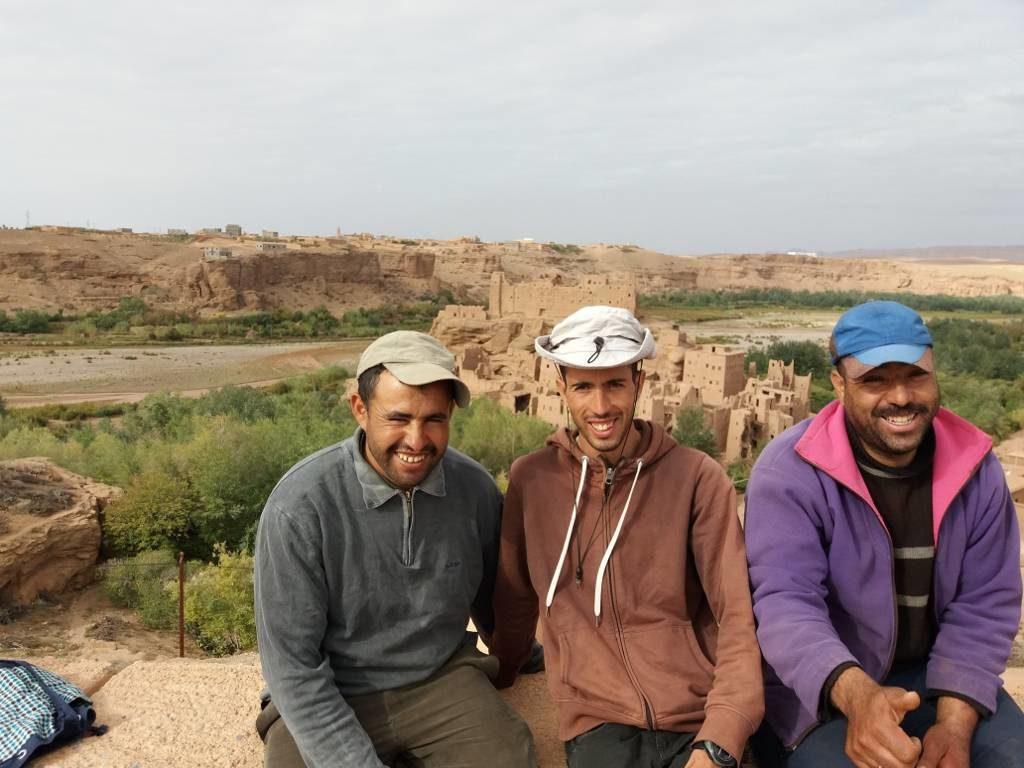 M'Goun, Trek au Maroc