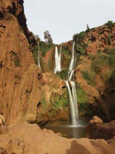 excursion ouzoud4 du voyage au maroc