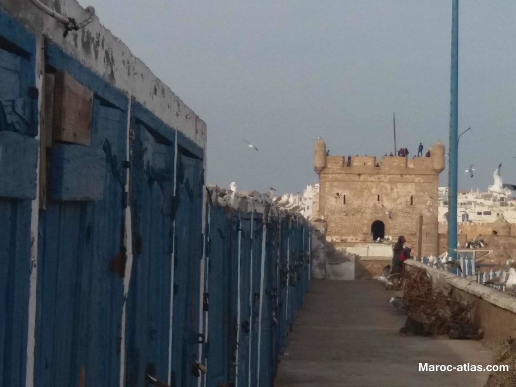 Maroc Atlas ancien ville d'essaouira - Janvier 2018